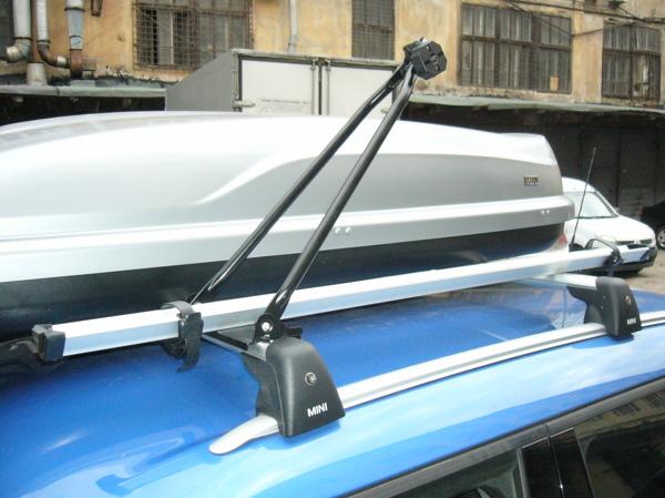 Багажник для велосипедов на крышу своими руками